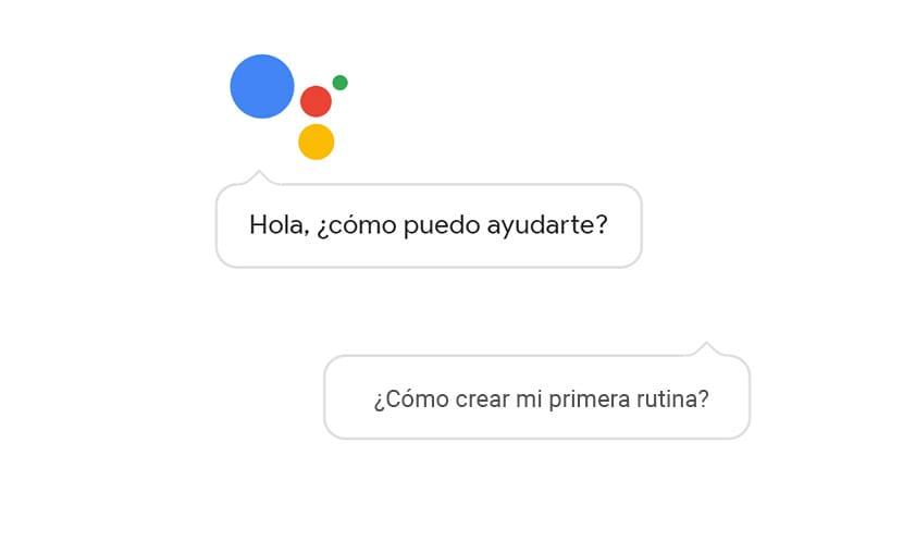 Cómo crear primera rutina en Google Assistant