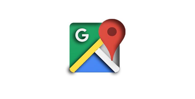 Google Maps Menú de navegación