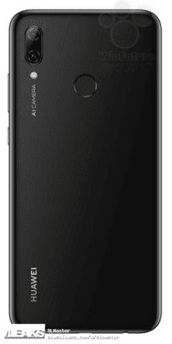 Huawei P Smart 2019 filtrado