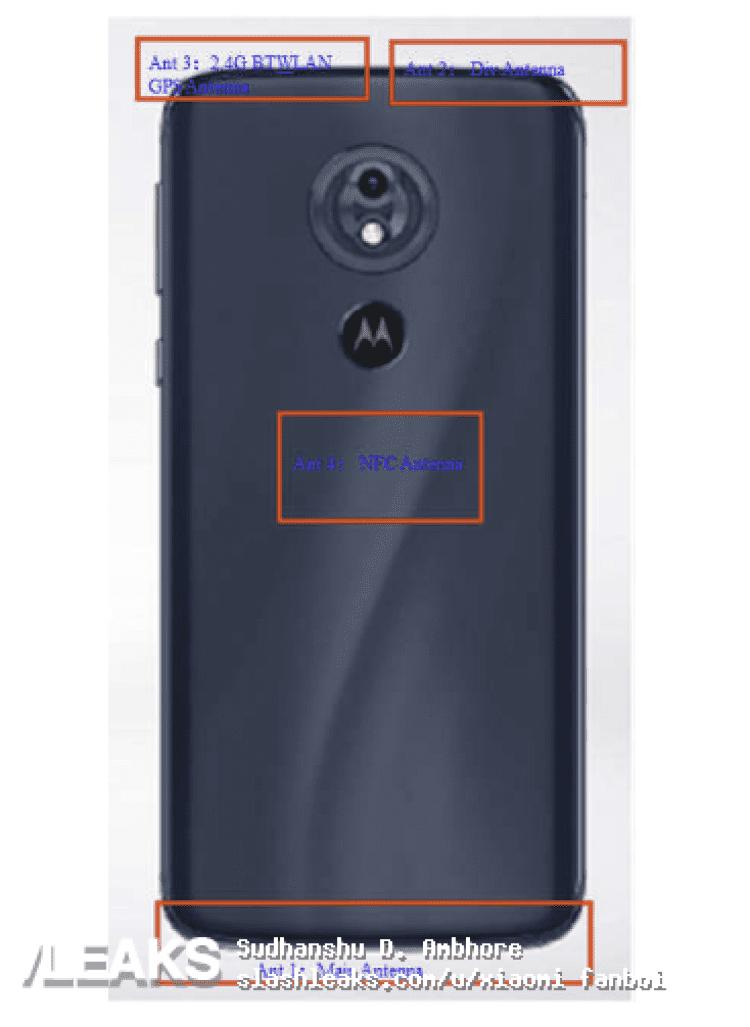 Motorola Moto G7 filtrado por la FCC