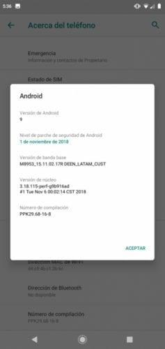 El Motorola One recibe Android Pie en México