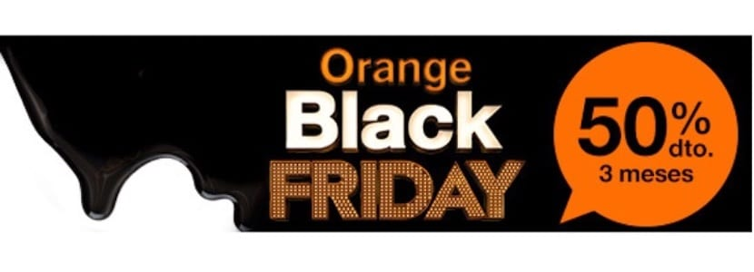 estas son las rebajas en las tarifas de orange por el black friday. Black Bedroom Furniture Sets. Home Design Ideas