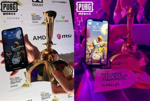PUBG Mobile Golden Joystick
