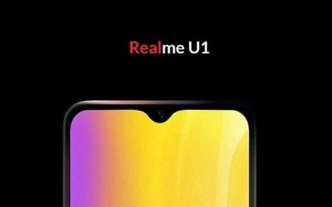 Realme U1 filtrado antes de su lanzamiento