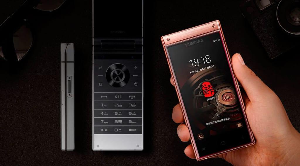 Características del Samsung W2019
