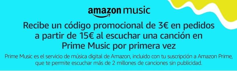 Amazon Music promocion