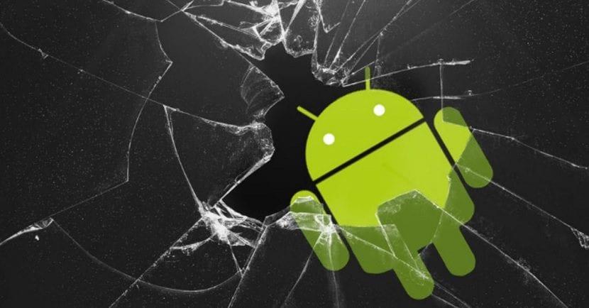 Android pantalla rota