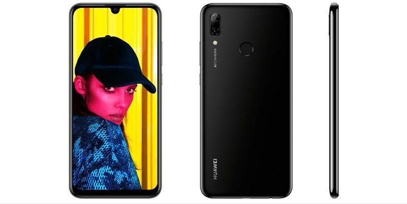 Huawei P Smart 2019 Diseño