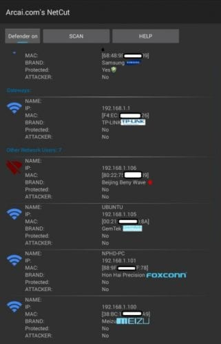 Desconecta a intrusos de tu red Wi-Fi con NetCut