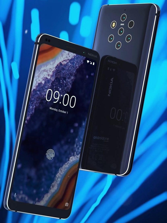 Nokia 9 diseño
