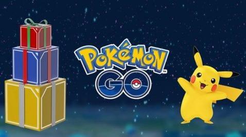 Navidad Pokémon GO