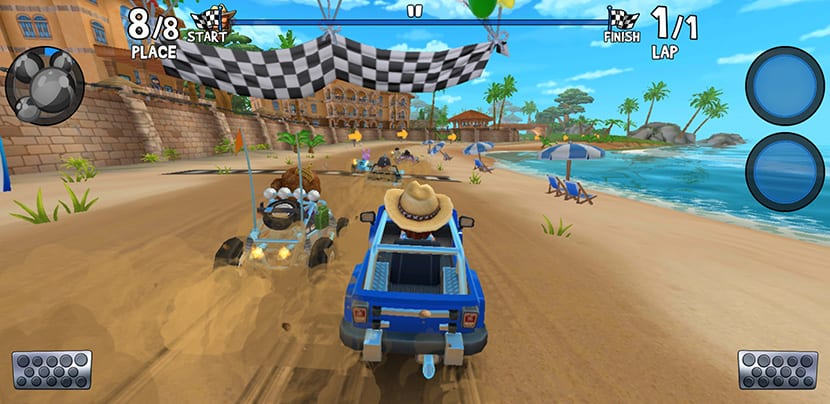 Carreras en Beach Buggy Racing 2