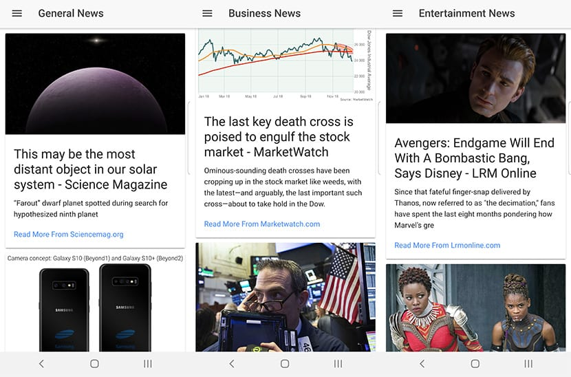 Clean News App