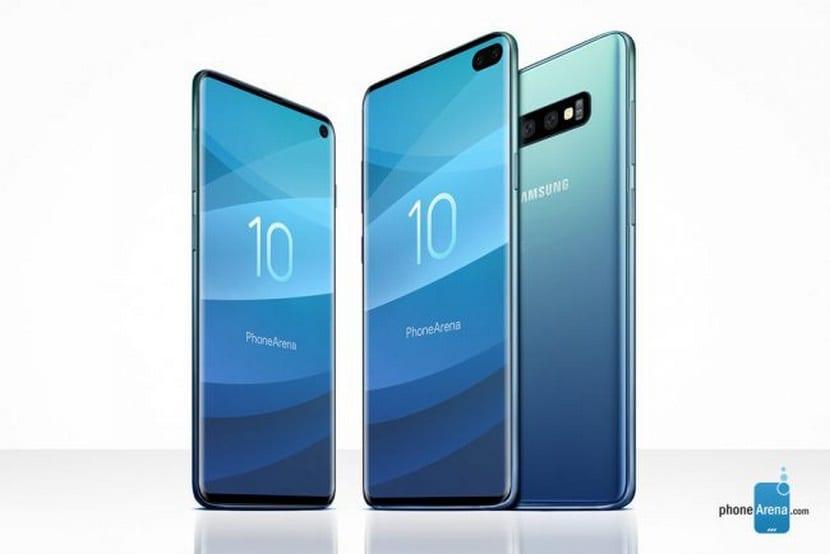 diseño del Samsung Galaxy S10