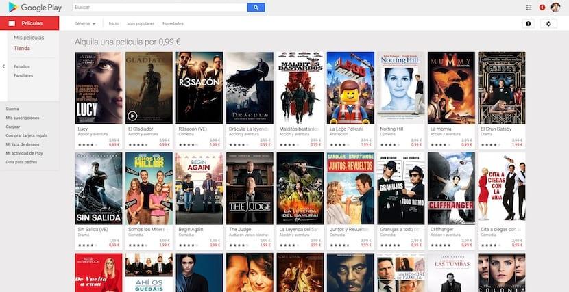 Google rebaja el precio de algunas películas de alquiler para celebrar el fin de año