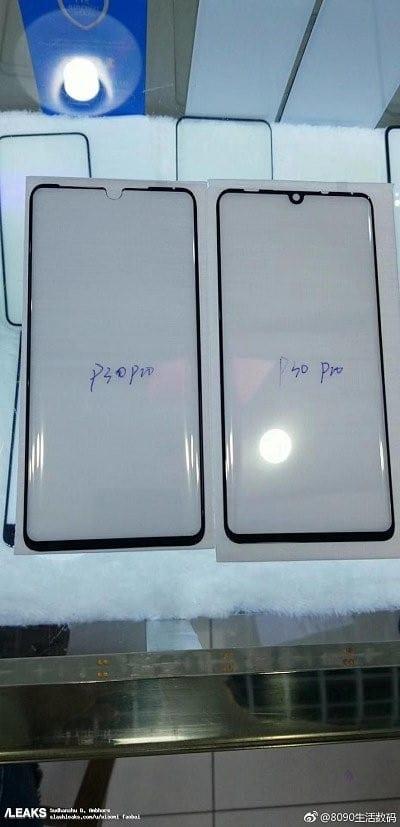 Protectores de pantalla del Huawei P30 Pro