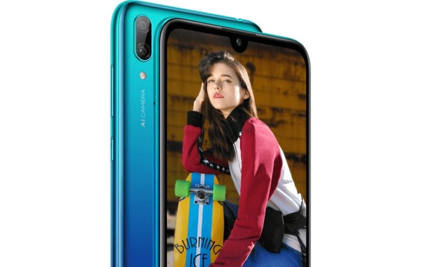 Render del Huawei Y7 (2019)