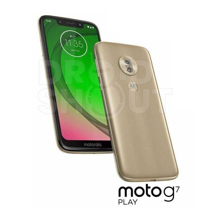 Render del Moto G7 Play