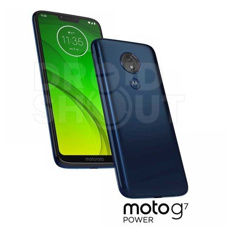 Render del Moto G7 Power