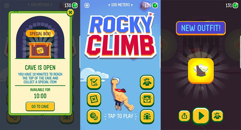 Rocky Climb en Android