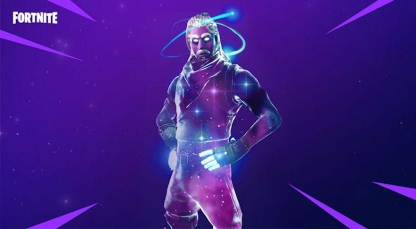 Skin Galaxy de Fortnite