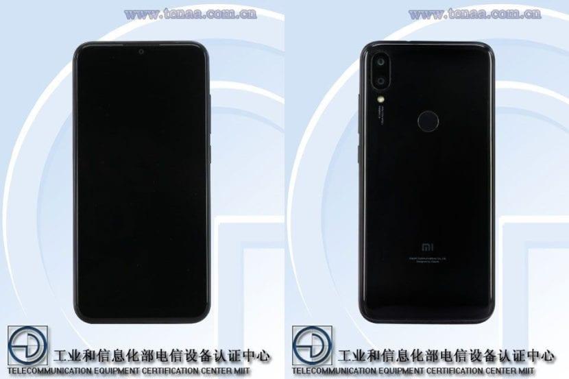Xiaomi Play en TENAA