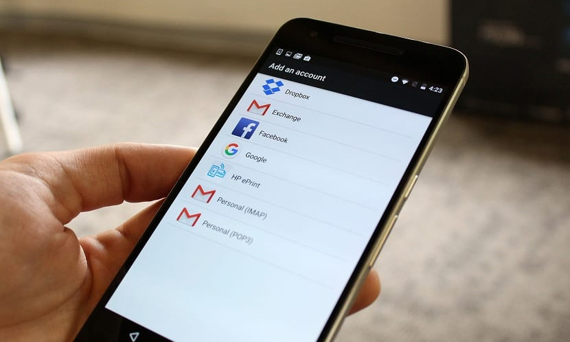 Cuenta Google Android