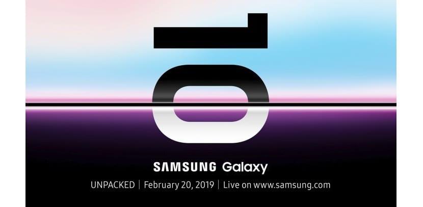 Galaxy S10 presentacion