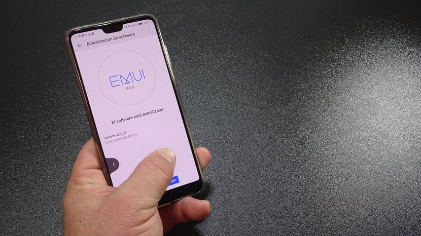 Cómo habilitar la navegación por gestos en el Huawei P20 PRO
