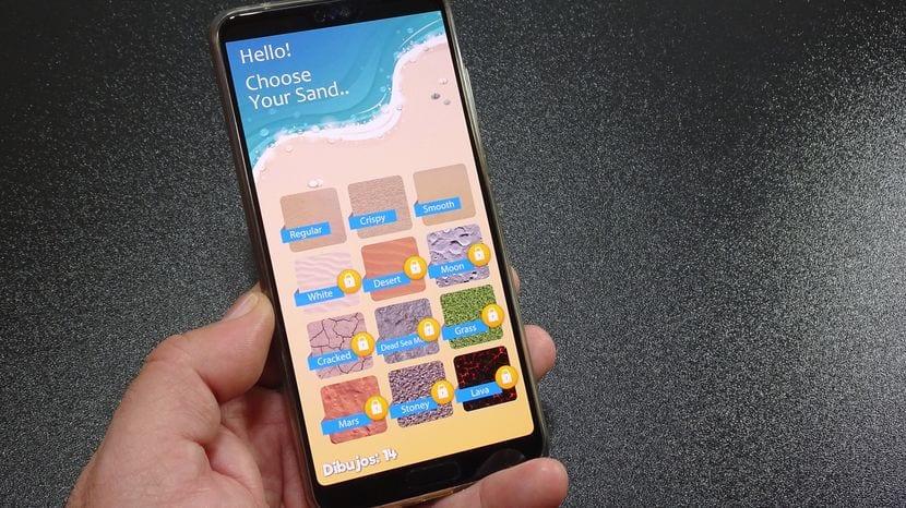 Aplicaciones para niños: Hoy Dibujando en la arena