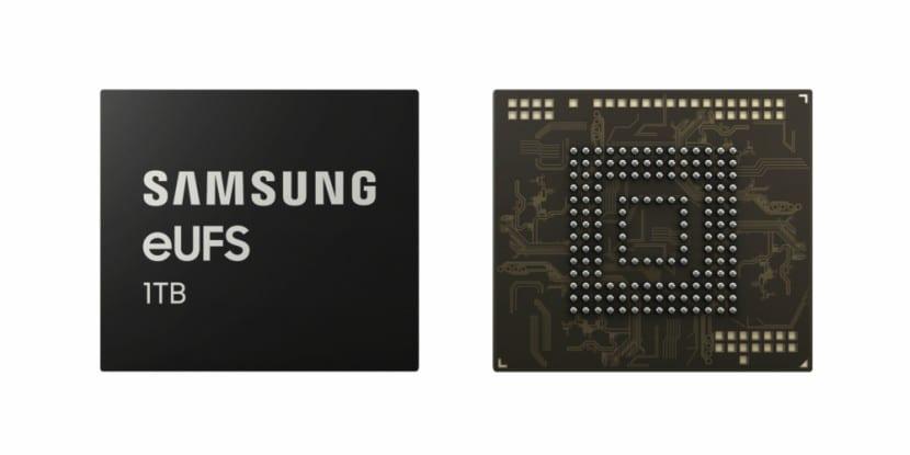 Samsung UFS 2.1 de 1TB