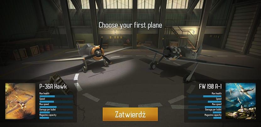 Elige avión