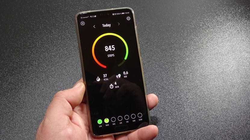 Una alternativa a Google Fit a lo Black Amoled