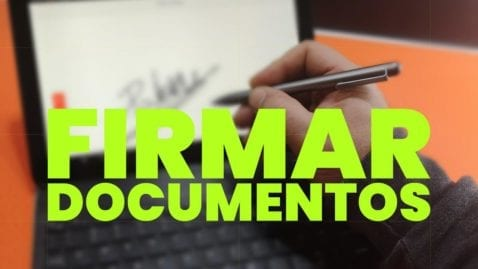 Firmar documentos digitales