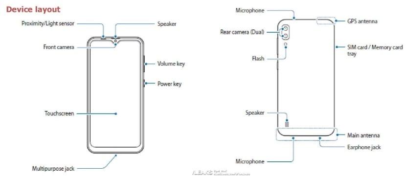 Especificaciones del Samsung Galaxy M10
