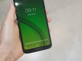 Foto real del Moto G7 Power