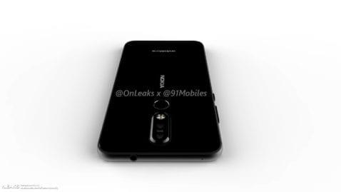 Render del Nokia 8.1 Plus