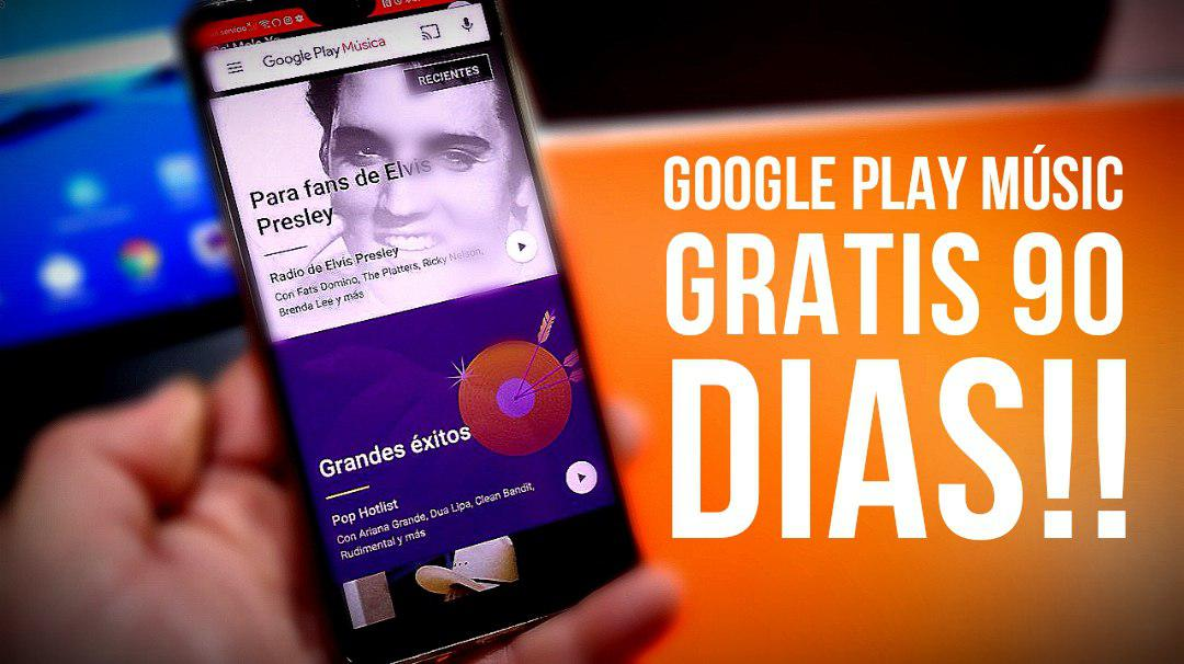 Google Play Music gratis 90 días