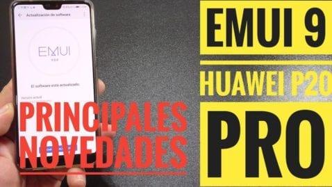 Huawei P20 PRO EMUI 9