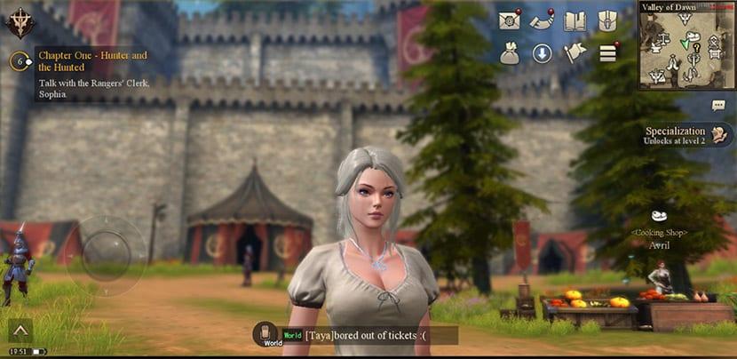 Rangers of Oblivion es un MMORPG de enjundia para tu móvil Android