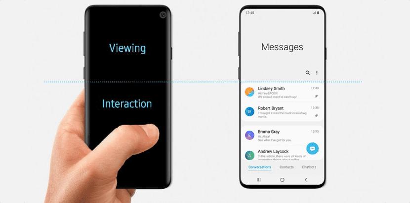 """Samsung publica """"accidentalmente"""" el diseño del Galaxy S10"""