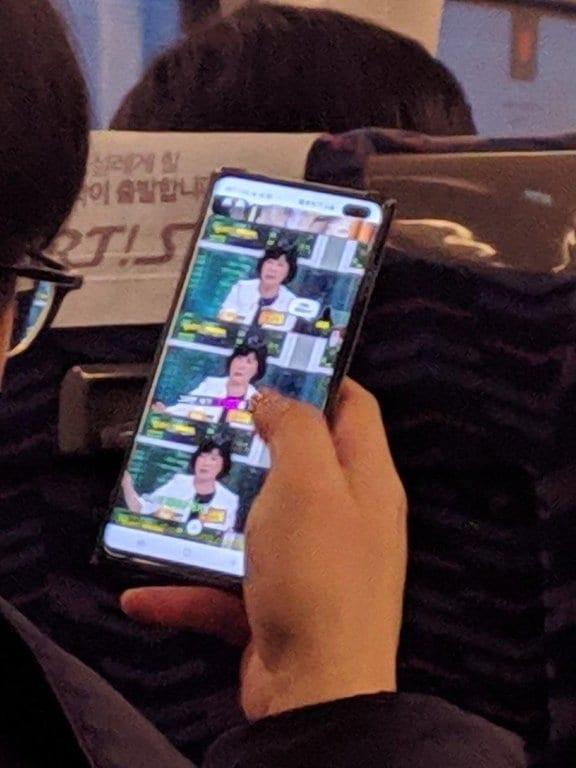 Foto en vivo del Samsung Galaxy S10 Plus