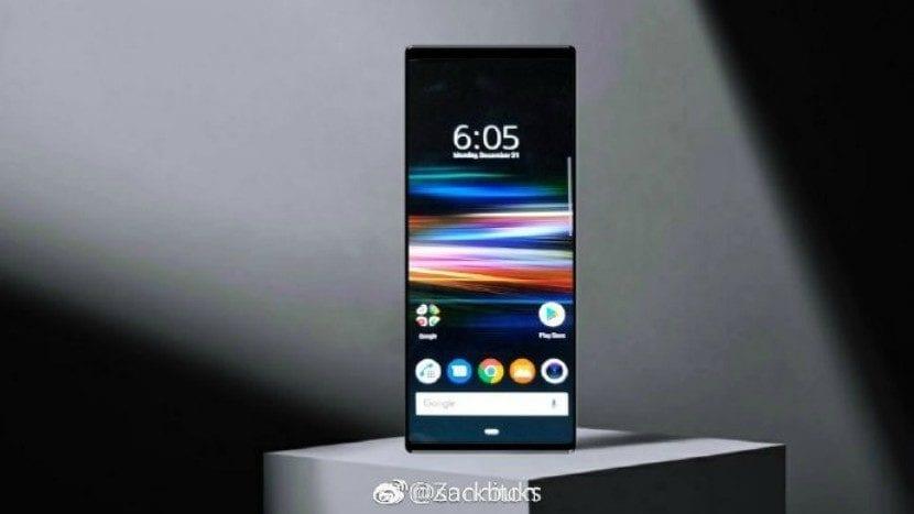Sony Xperia XZ4 render