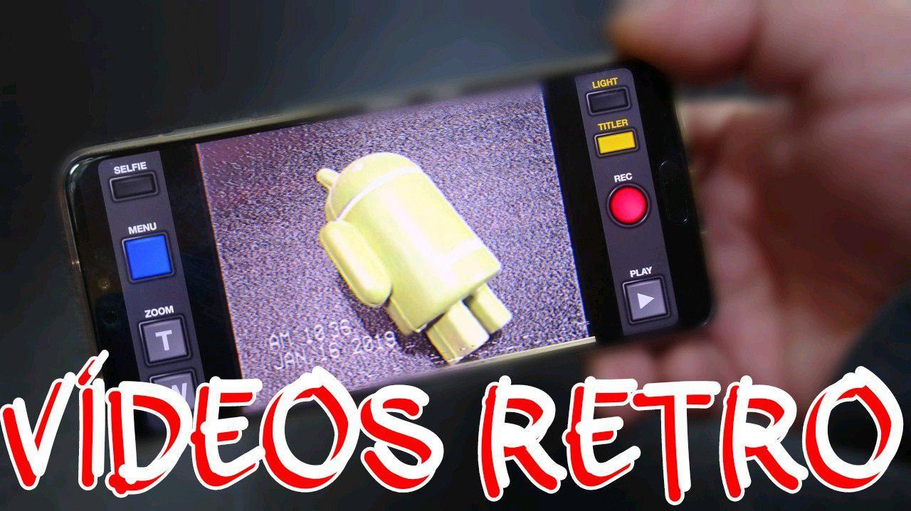 VHS CAM Vídeos retro
