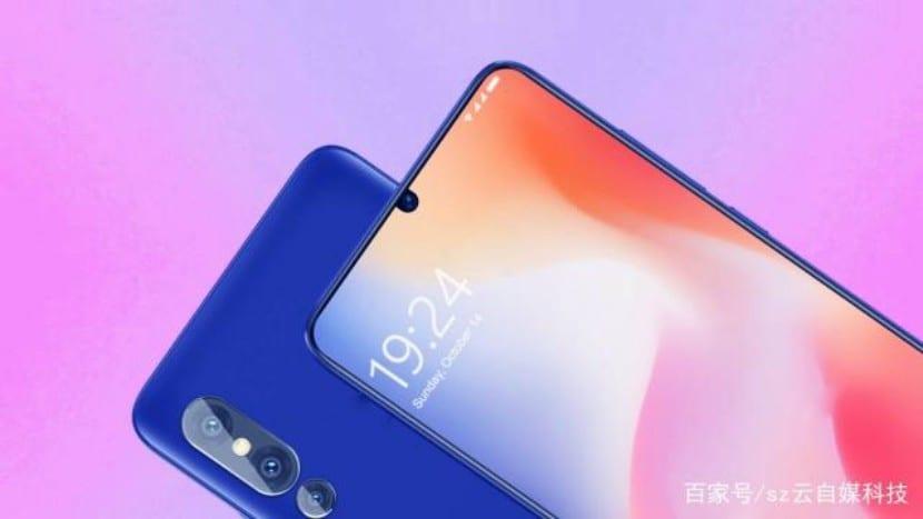 El Nuevo Concepto Del Xiaomi Mi 9 Muestra Biseles Más Escasos
