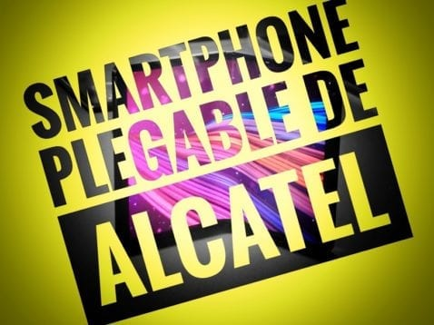 Alcatel TCL smartphone plegable
