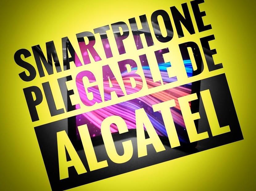 Alcatel TCL smartphone plegable