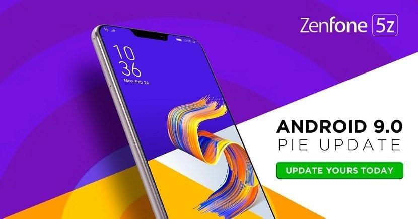 Asus Zenfone Android Pie