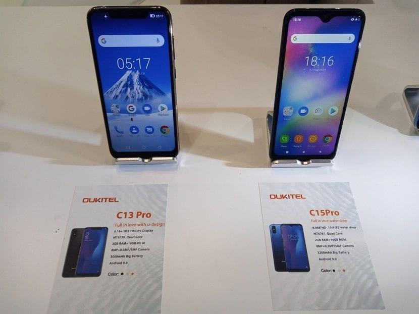 C13 pro and C15 Pro at MWC 1