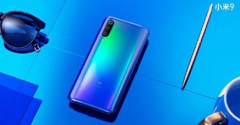 Diseño del Xiaomi Mi 9